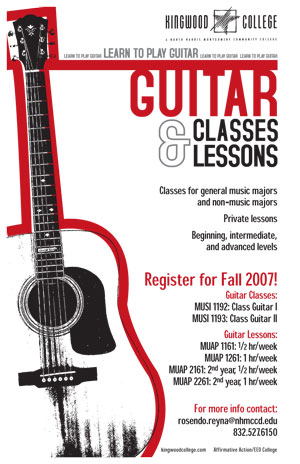 Guitar Classes and Lessons