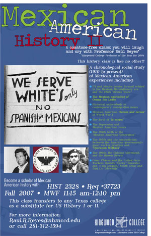 Mexican American History II